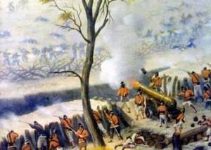 Cuadro del pintor argentino Cándido López, llamado también el Manco de Curupayty ya que participó de la batalla y allí perdió el brazo derecho hasta el codo. Fue el principal ilustrador de la contienda a partir de los bocetos que realizó durante la misma