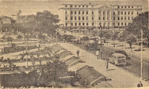 Centro de Asunción, en 1951