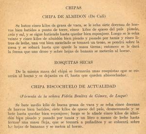 Cómo hacer chipa en el primer libro de receta de comida paraguaya